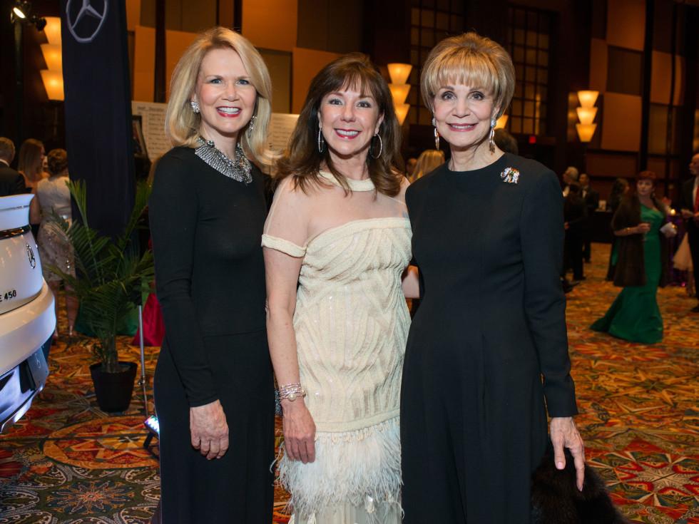 Winter Ball Suzan Deison, Elizabeth Stein, Leisa Holland Nelson