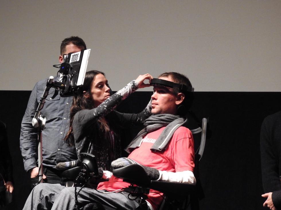 Steve Gleason at Sundance Film Festival