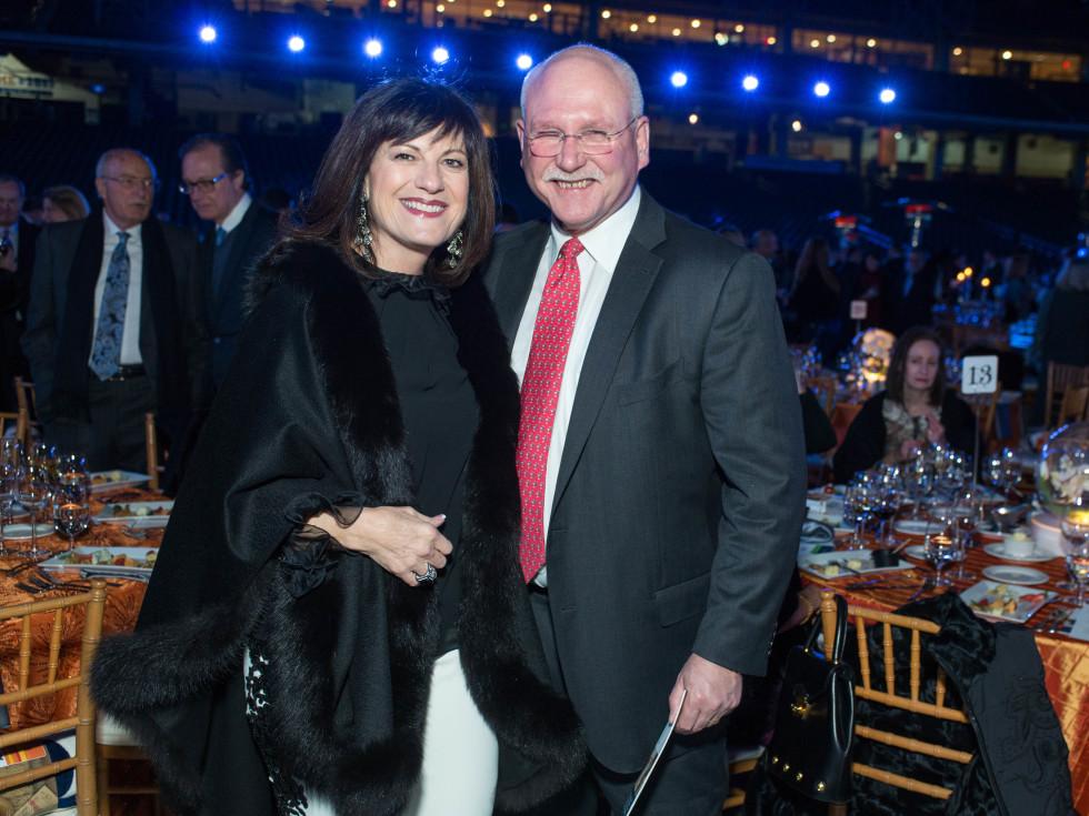 Astros Diamond Gala, Jan. 2016, Ellie Francisco, Michael Francisco