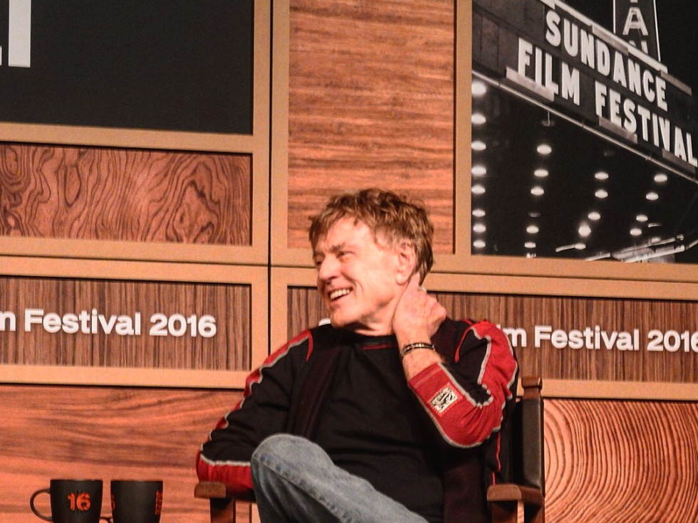 Robert Redford at Sundance FIlm Festval
