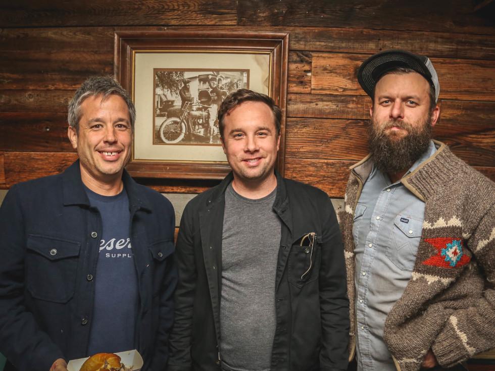 SHED Barbershop Service Industry Night CultureMap Austin Phillip Speer Ben Runkle Travis Norman