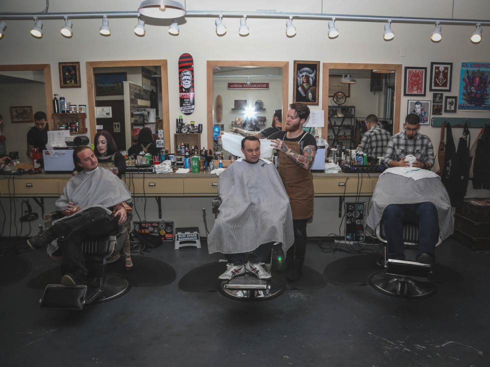 SHED Barbershop Industry Night CultureMap Austin
