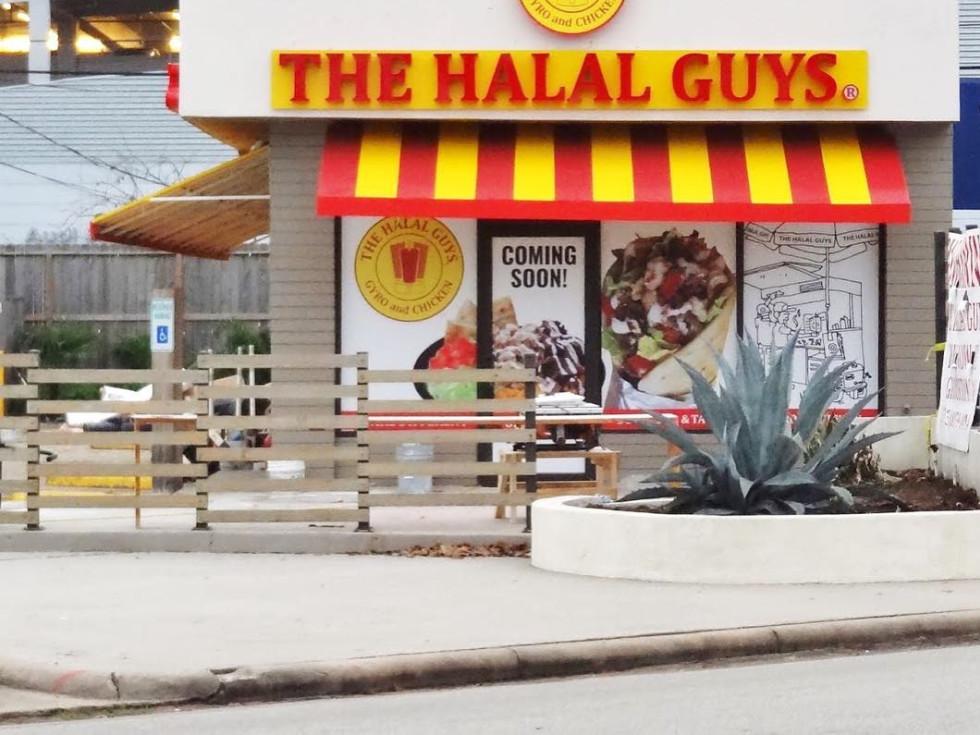 The Halal Guys Houston exterior