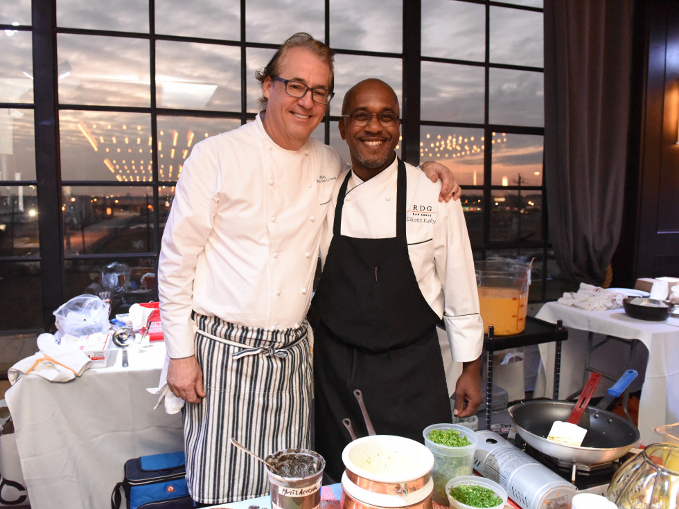 Houston, Truffle Chef Charity Challenge, January 2016, Chef Robert Del Grande, chef Elliott Kelly