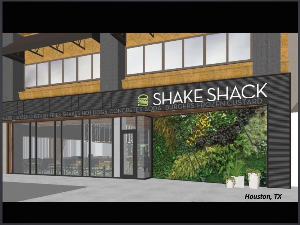 Shake Shack Houston rendering