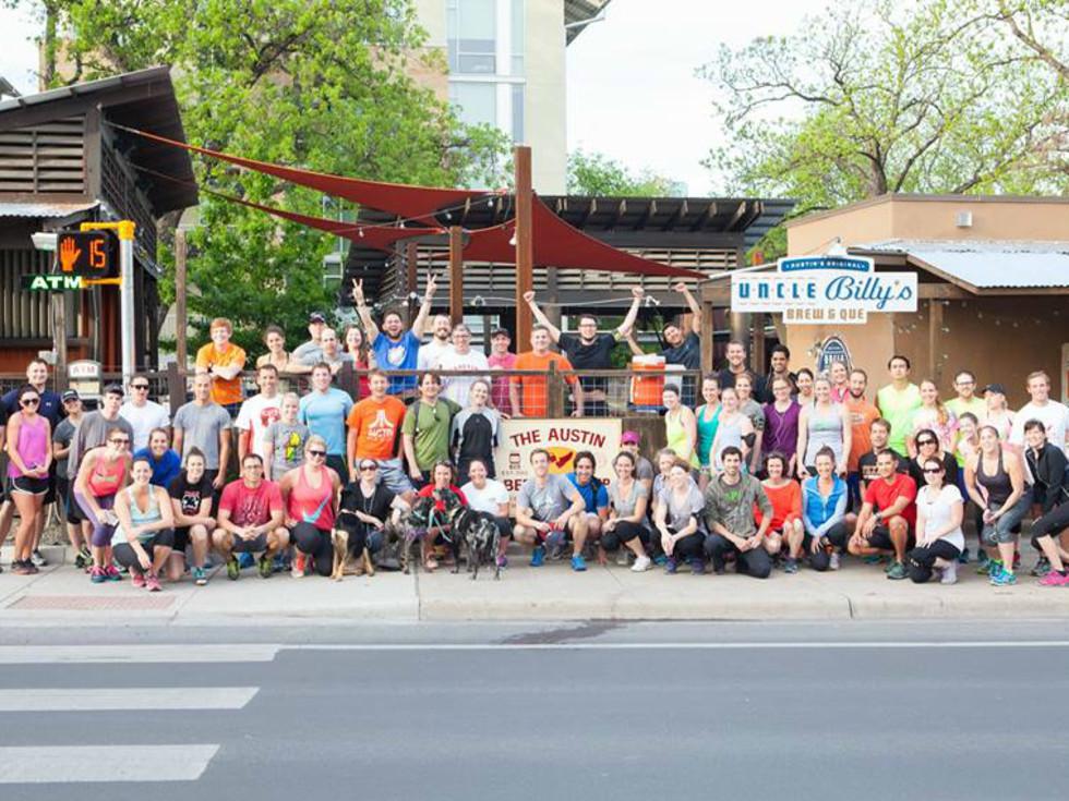 Austin Beer Run Club group photo