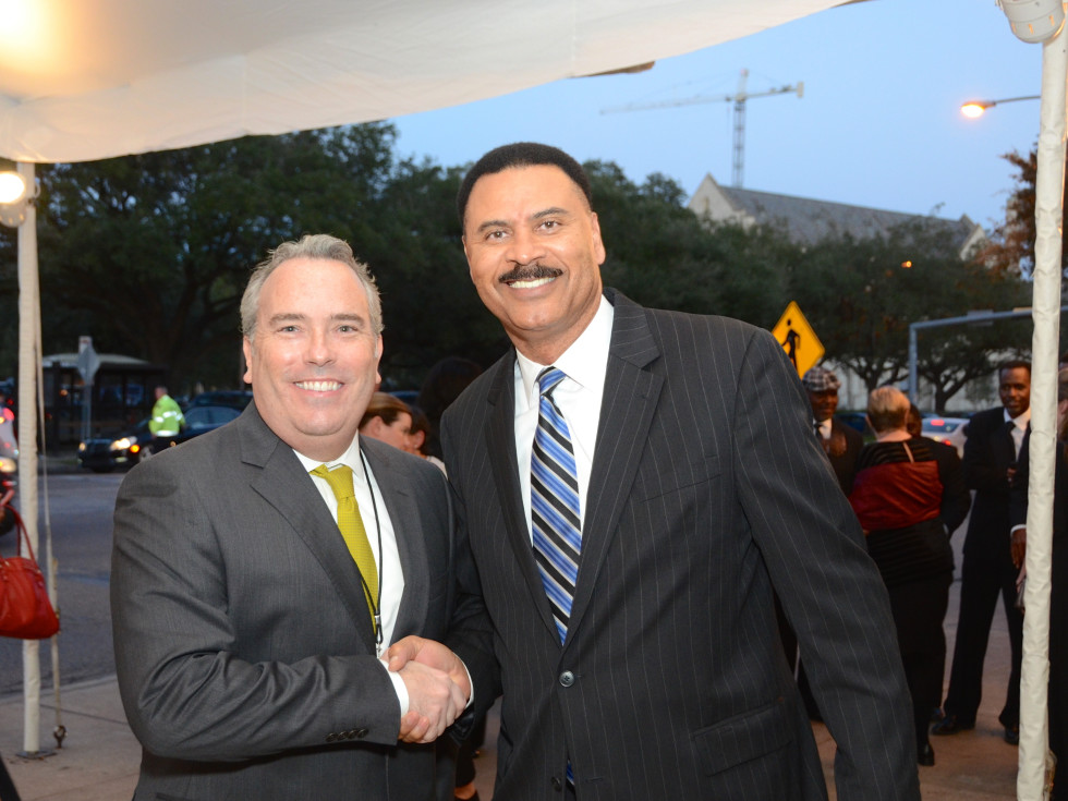News, Mayor Sylvester Turner Inauguration, Jan. 2016, MFAH, Jason Fuller, C.O. Bradford