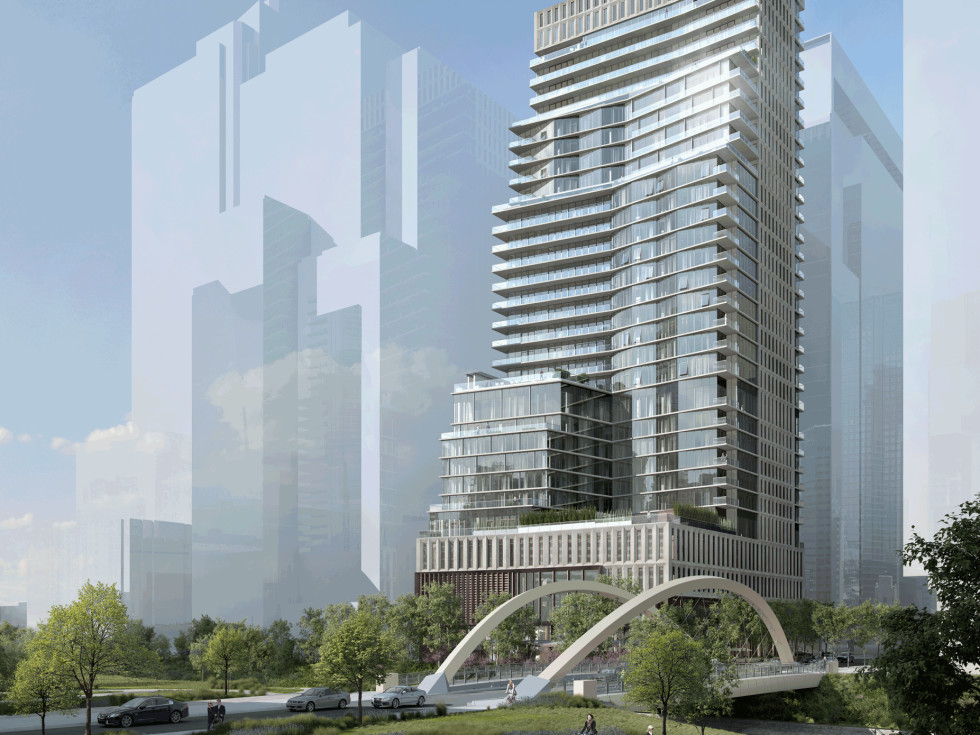 Austin Proper tower downtown Second Street District rendering 2015