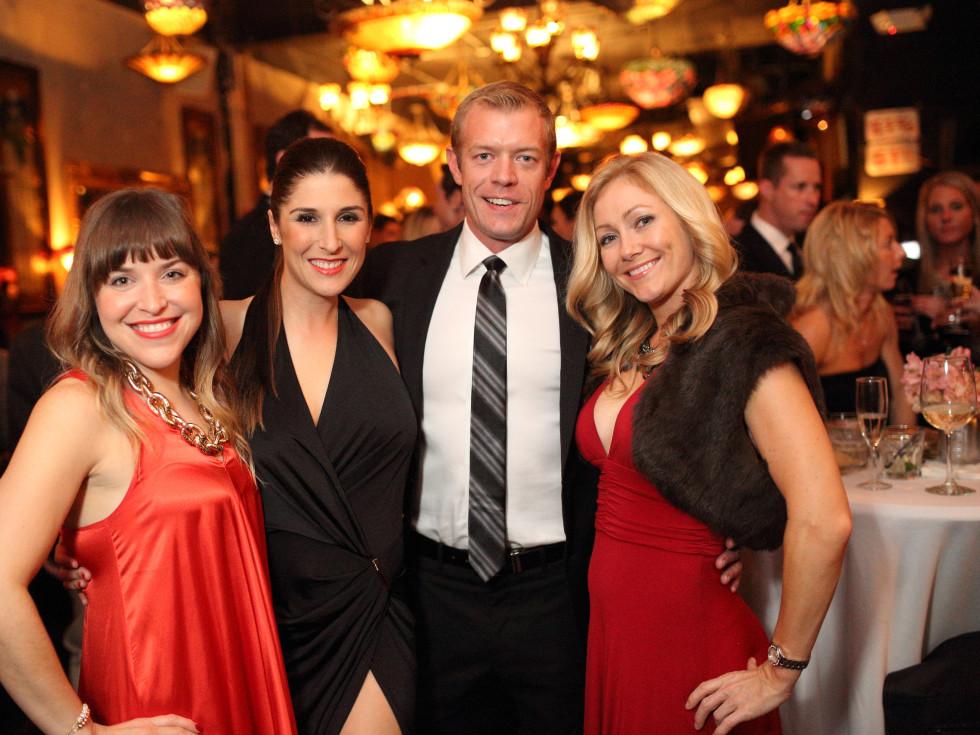 News, Homemade Hope party, Dec. 2015, Jennifer Palladina, Brittany Herbert, Blake Culp, Jenny Craven.