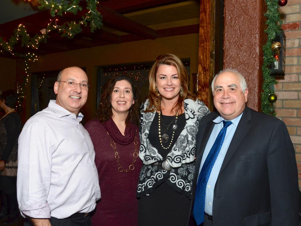 News, Mayor's Hispanic Advisory Board party, Dec. 2015,  Gilbert Garcia, Rose Garcia Moriarty, Miranda Sevcik, William Flores