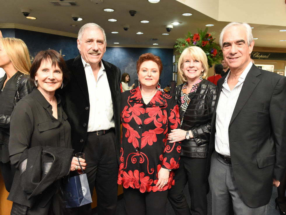 News, Zadoks Holiday Party, Dec. 2015,Lindy and Sandy Kahn, Helene Zadok, Bob and Beverly Pickelner