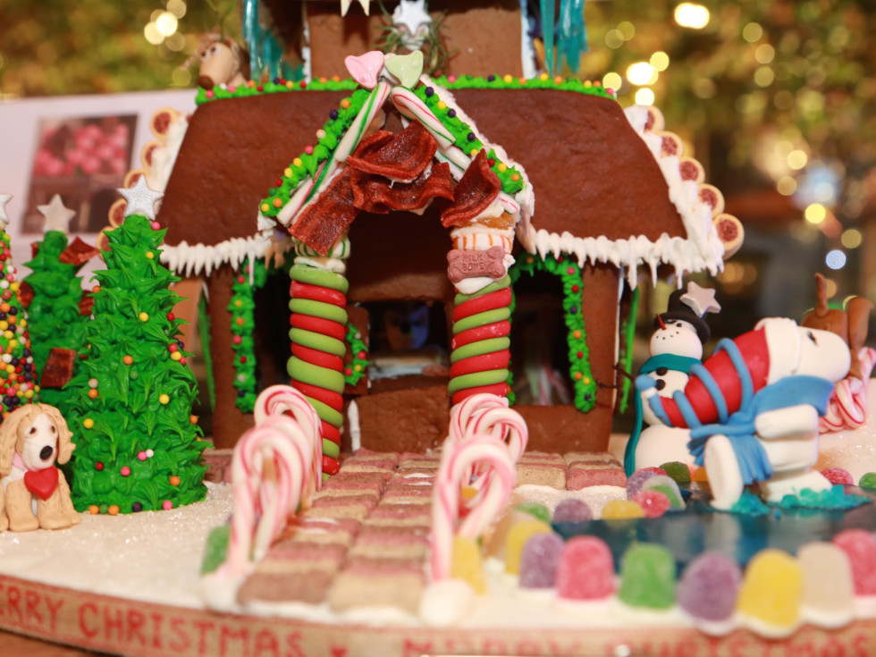 Gingerbread dog house The Durham House