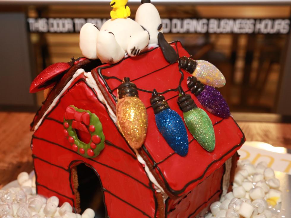 Gingerbread dog house Main Kitchen
