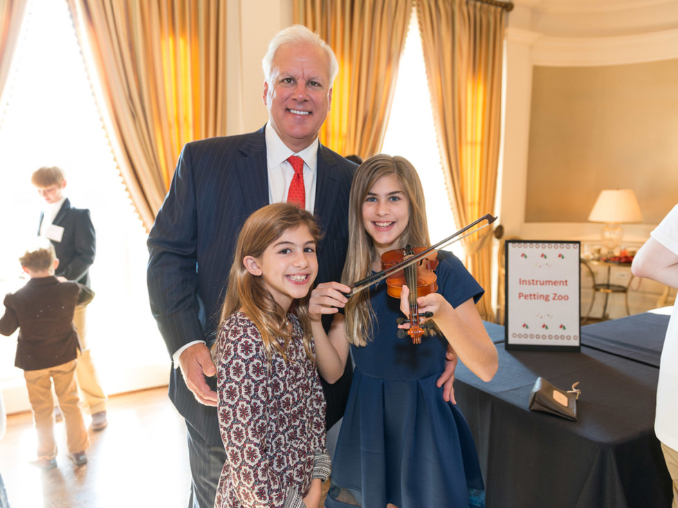 News, Symphony Magical Musical Morning, Dec. 2015 James, Jade, Jordan Stein
