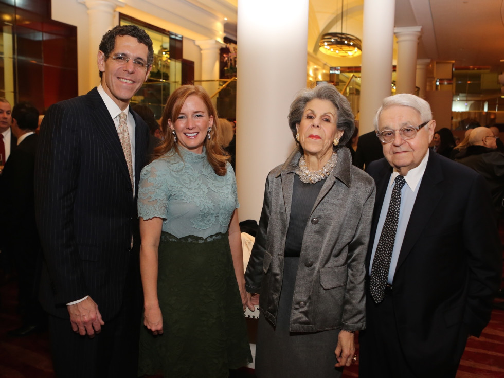 News, Houston Ballet Jubilee of Dance, Dec. 2015, Richard Lapin, Alison Thacker, Susan Lapin, Jack Lapin.
