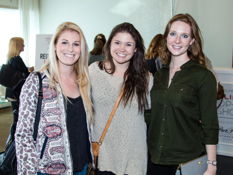Katie Hoag, Stephanie Templeton, Leslie Roussev