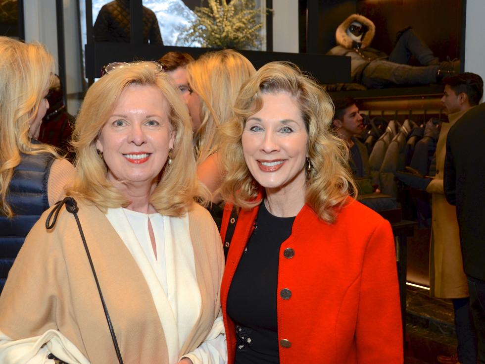 News, Moncler opening, Dec. 2015, Cinthia Dicaro, Jaime Williams