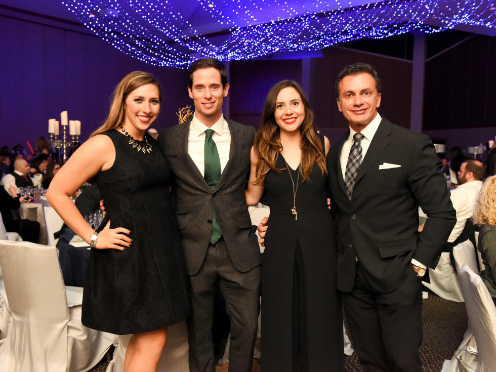 Houston, Beth Yeshurun Day School gala, December 2015, Ashley Angelle, Henry Richardson, Meredith O'Neal, Monsour Taghdisi
