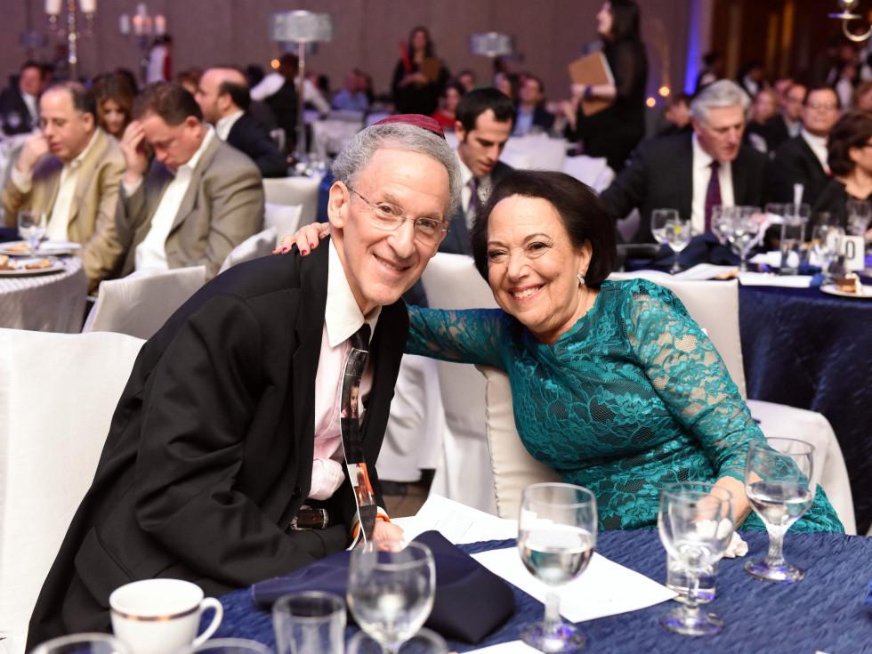 Houston, Beth Yeshurun Day School gala, December 2015, Diane and Alan Levin