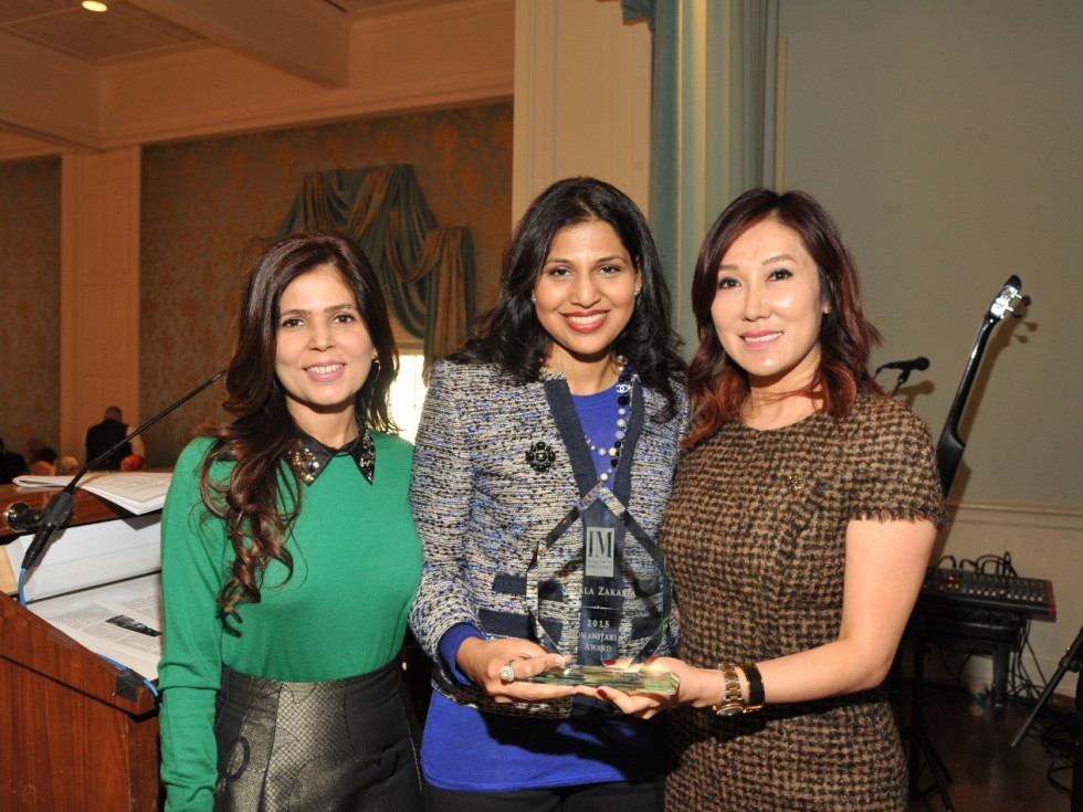 News, Interfaith Ministries luncheon, Nov. 2015, Habiba Dhanani, Nihala Zakaria, Mandy Kao