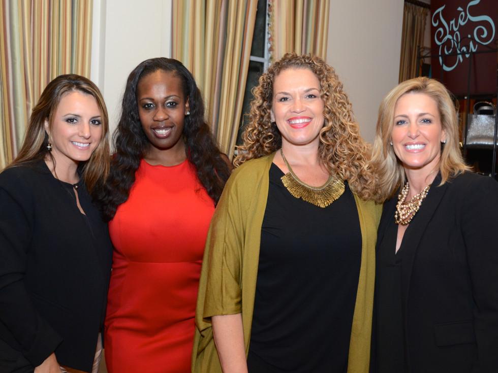 Houston, Dress for Success A Night Out Event, November 2015, Laurel Midani, Amanda Ard, Paige Gilbeaux, Suzanne Rivera