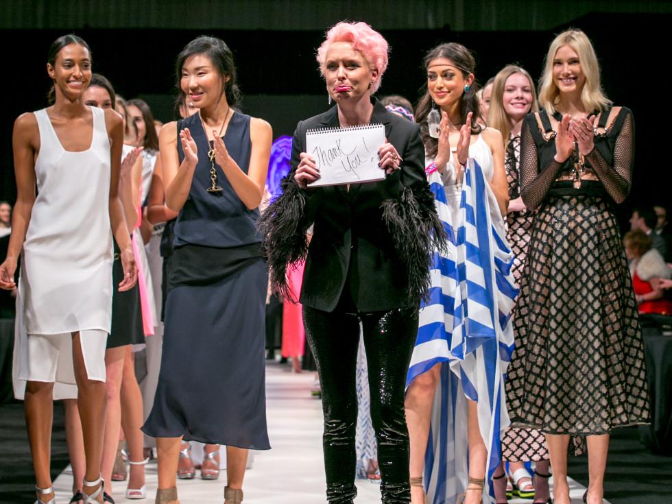 Heart of Fashion final night Vivian Wise