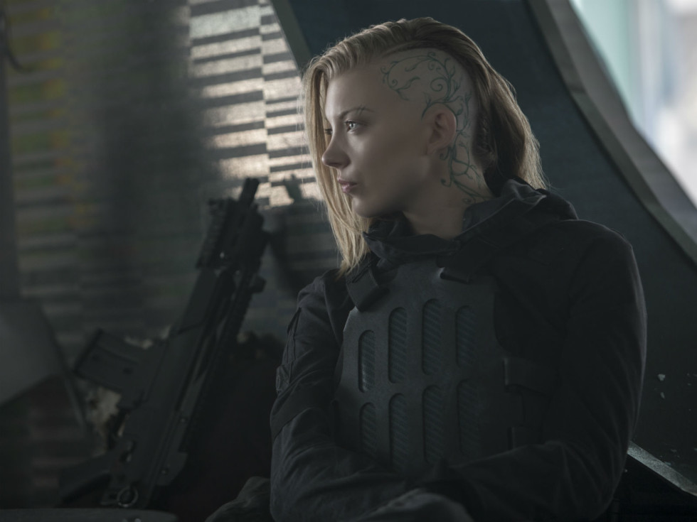 Natalie Dormer in The Hunger Games: Mockingay - Part 2