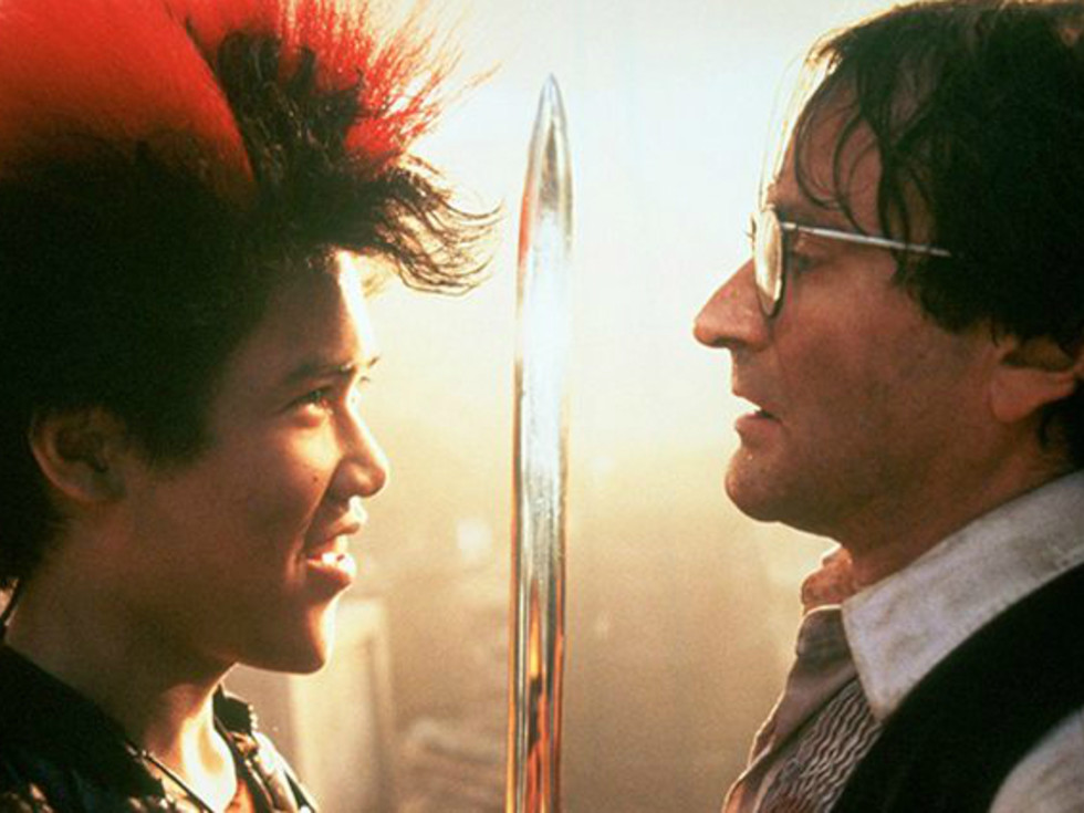 Hook Movie 1991 Robin Williams Rufio