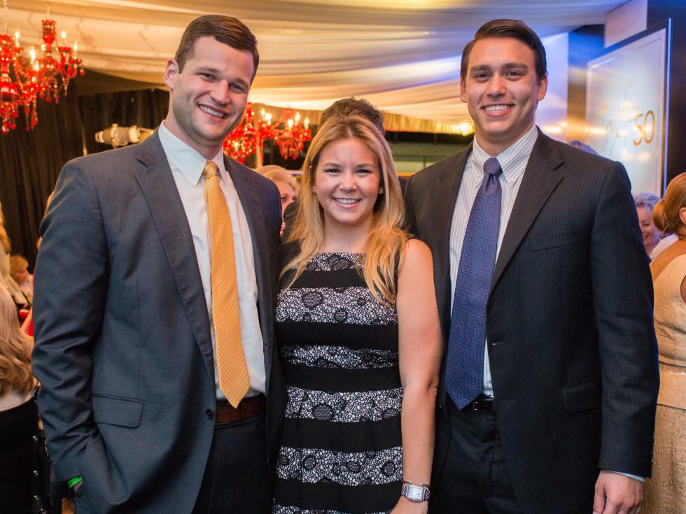 News, Shelby, Tony's 50th, Nov. 2015 Bryan Glass, Mari Trevino, Miguel Trevino