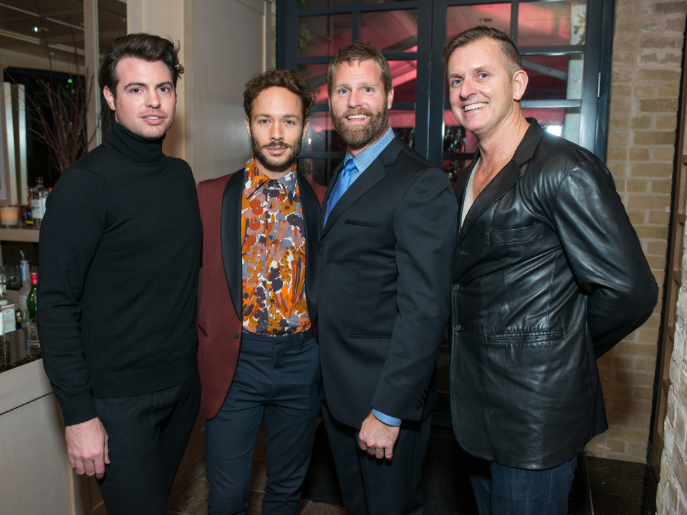 News, Shelby, Dolce & Gabbana dinner, Nov. 2015, Matt Johns, Oliver Halkowich Kevin black