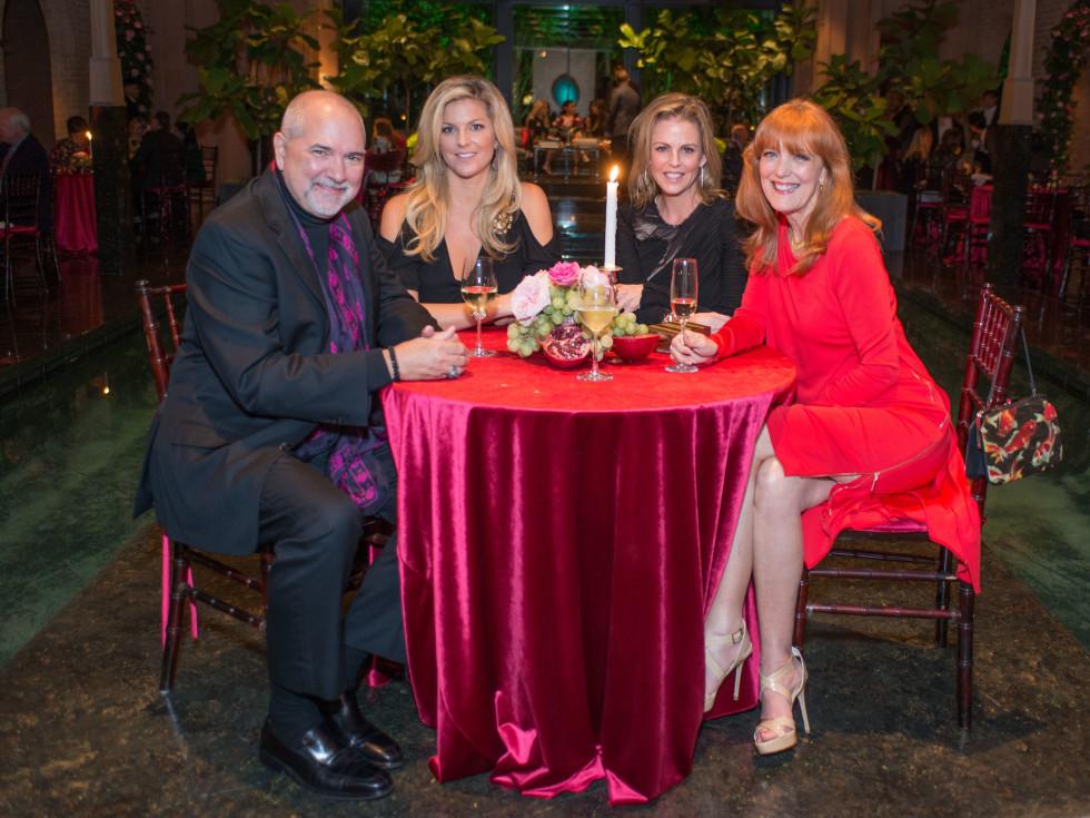 News, Shelby, Dolce & Gabbana dinner, Nov. 2015, Bob Cavnar, Natalie LeFevre, Elizabeth Petersen, Gracie Cavnar