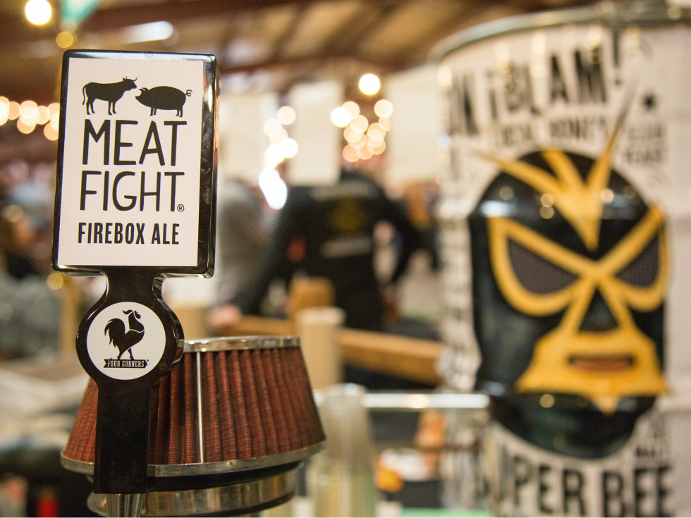 Four Corners tap at Meat Fight 2015