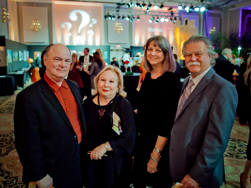 Orange Show Gala John and Beverly Berry, Paul and Nancy Johnson