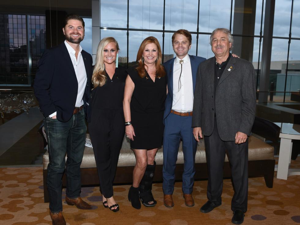 Doug & Holly Brooks, Taylor & Laura Brooks, Kyle Brooks