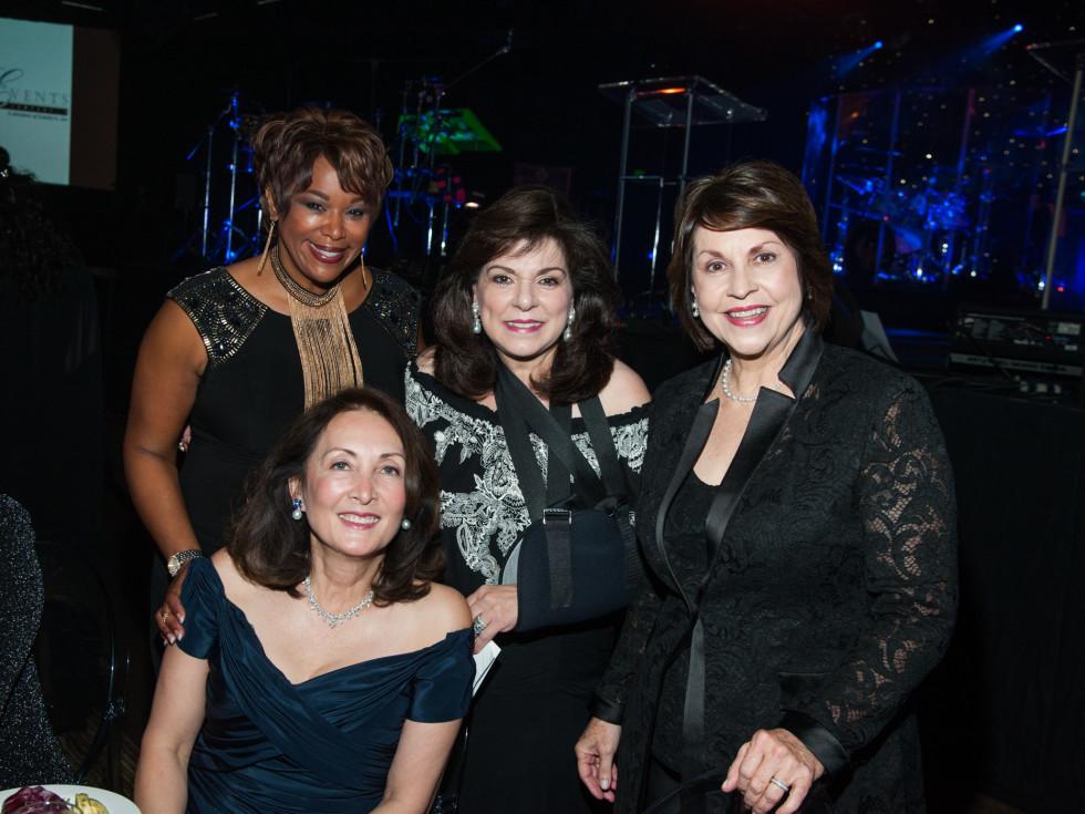 News, Shelby, Houston Children's Charity gala, NOv. 2015, Deborah Duncan, Laura Ward, Rev. Mary Gracely, & Penny Loyd