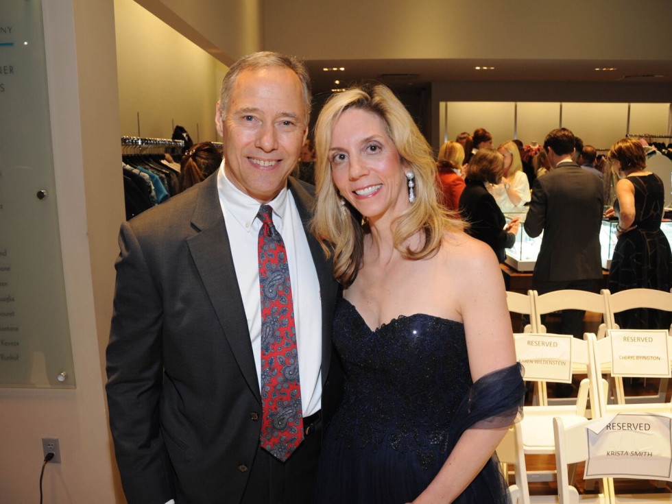 Liancarlo American Heart Association show at Elizabeth Anthony, Mark Chapman, Dr. Roberta C. Bogaev