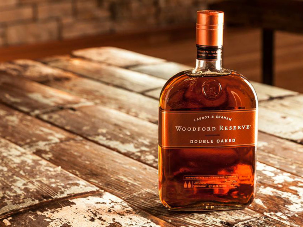 Bottle of Woodford Reserve