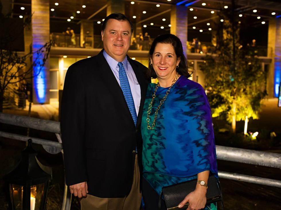 News, Shelby, Buffalo Bayou Partnership gala, Nov. 2015, Richard and Collier Blades