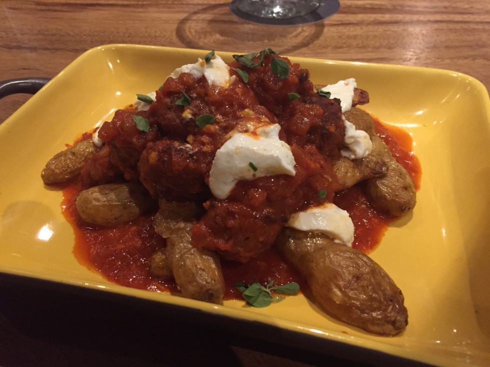 Tuck Room Papas Bravas