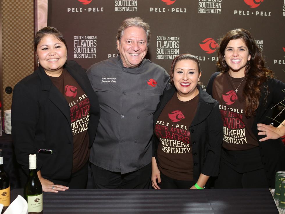 News, Shelby, March of Dimes Signature chefs, Nov. 2015, Chef Paul Friedman, Pelli Pelli crew