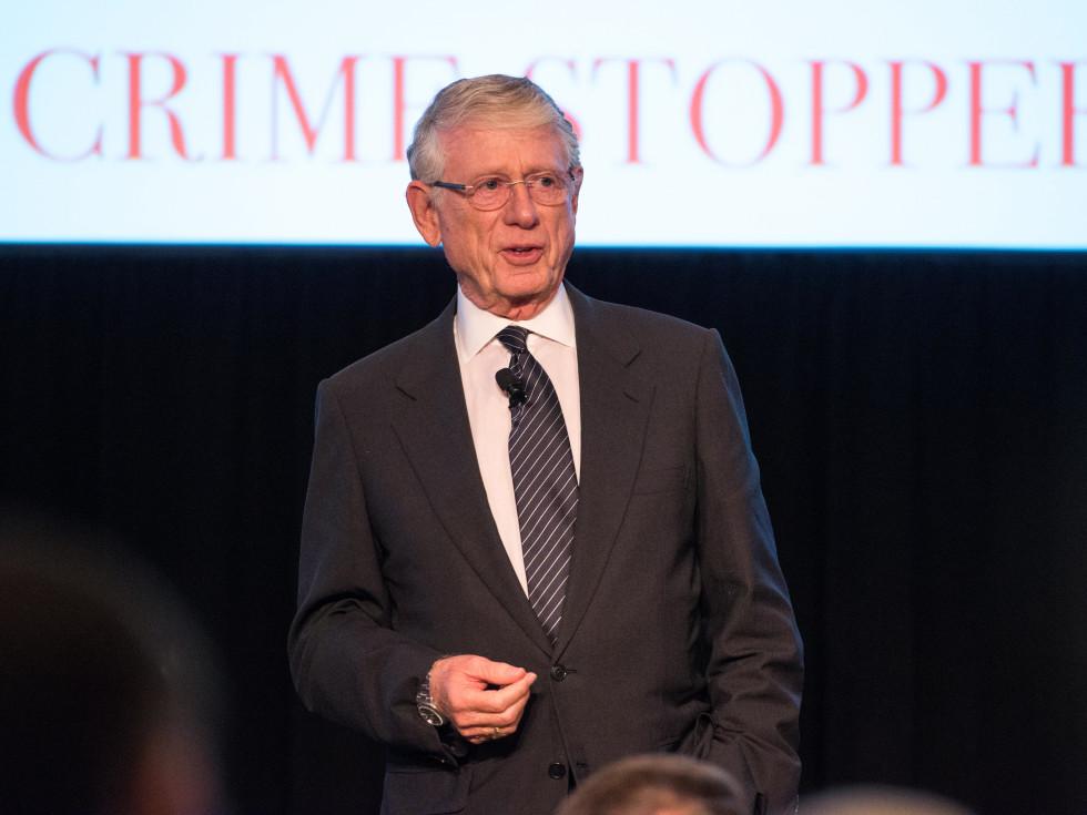 Crime Stoppers Gala Keynote Speaker Ted Koppel