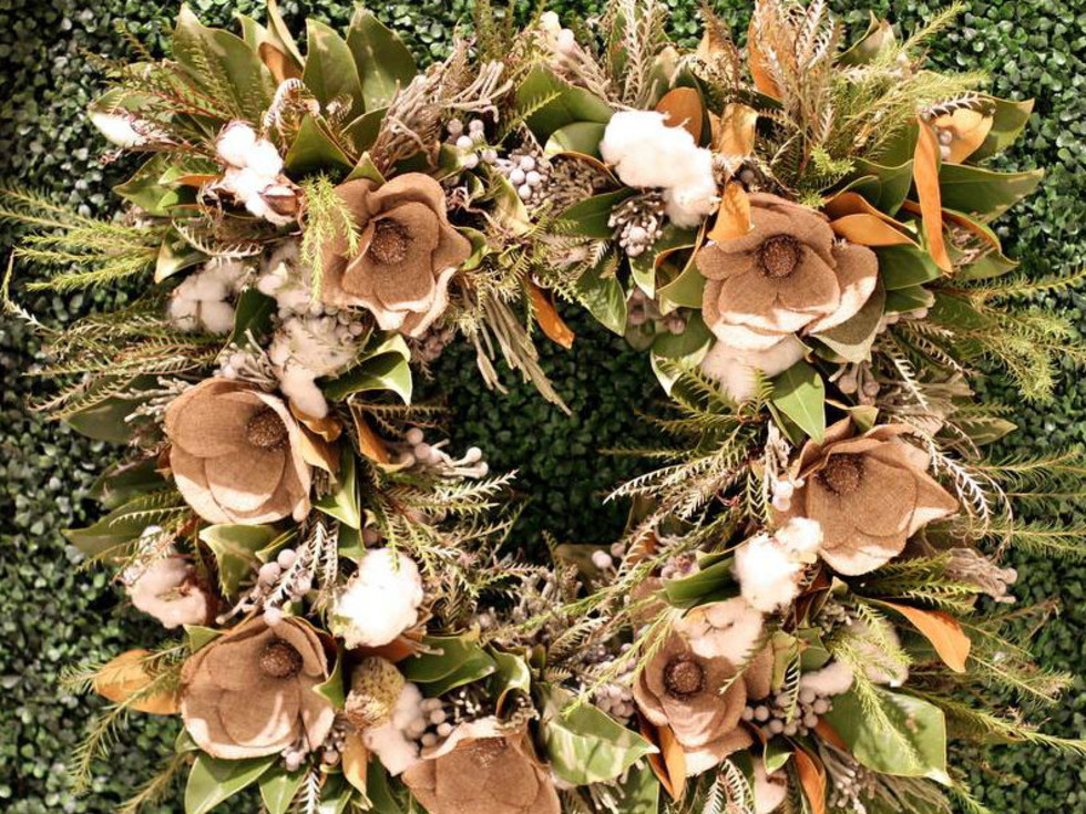 Sissy's Southern Kitchen DIFFA Wreath Collection
