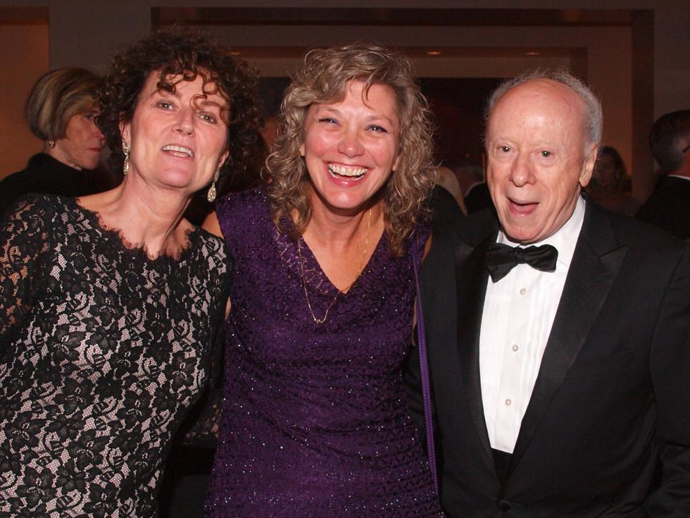 Welch Foundation banquet Titia de Lange, Kim Orth, Joe Goldstein