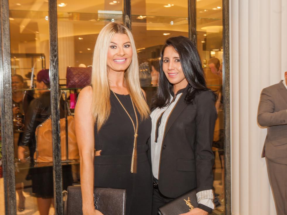 Erika Ballard, Marivel Hernandez at Heart of Fashion kickoff party