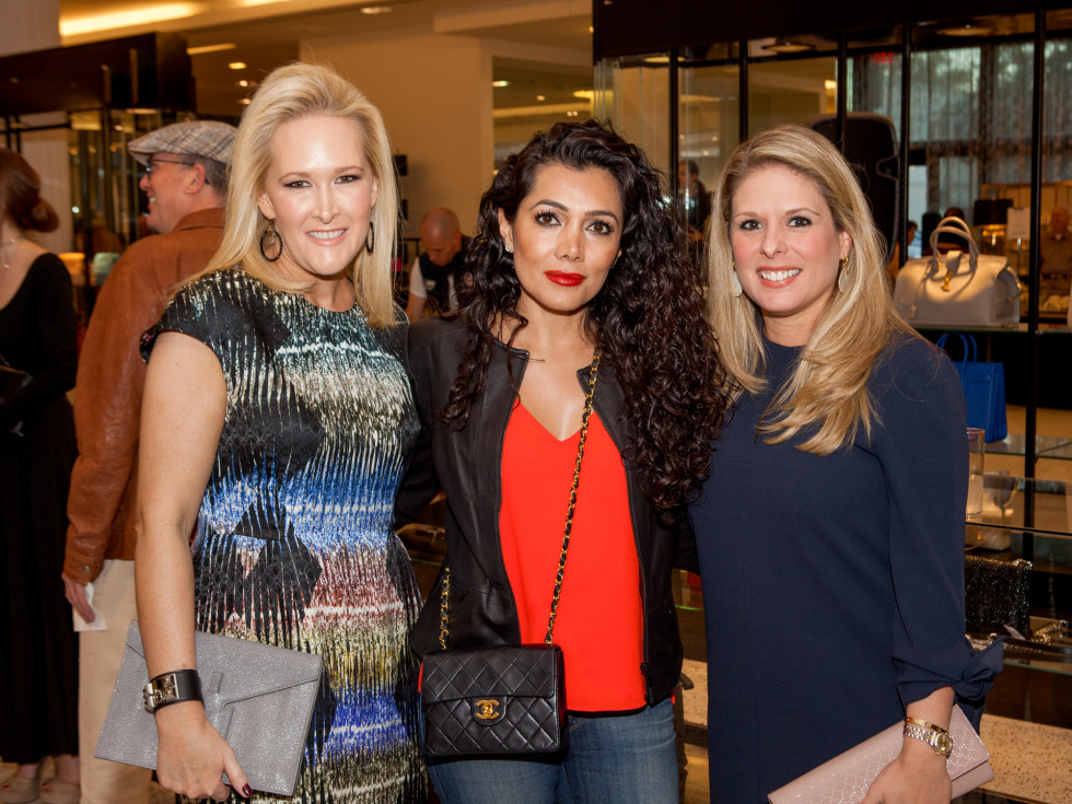 Kelly Silvers,Farnoush Forotan, Marisa Riordan at Heart of Fashion kickoff party