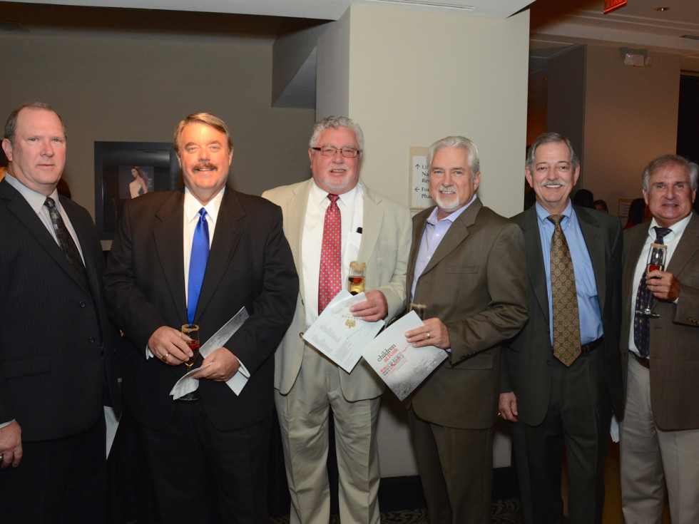 Children at Risk dinner David Youngblood, Mark Graber, Dennis Hensley, Dwayne Tuttle, Ron White and John Talbot.