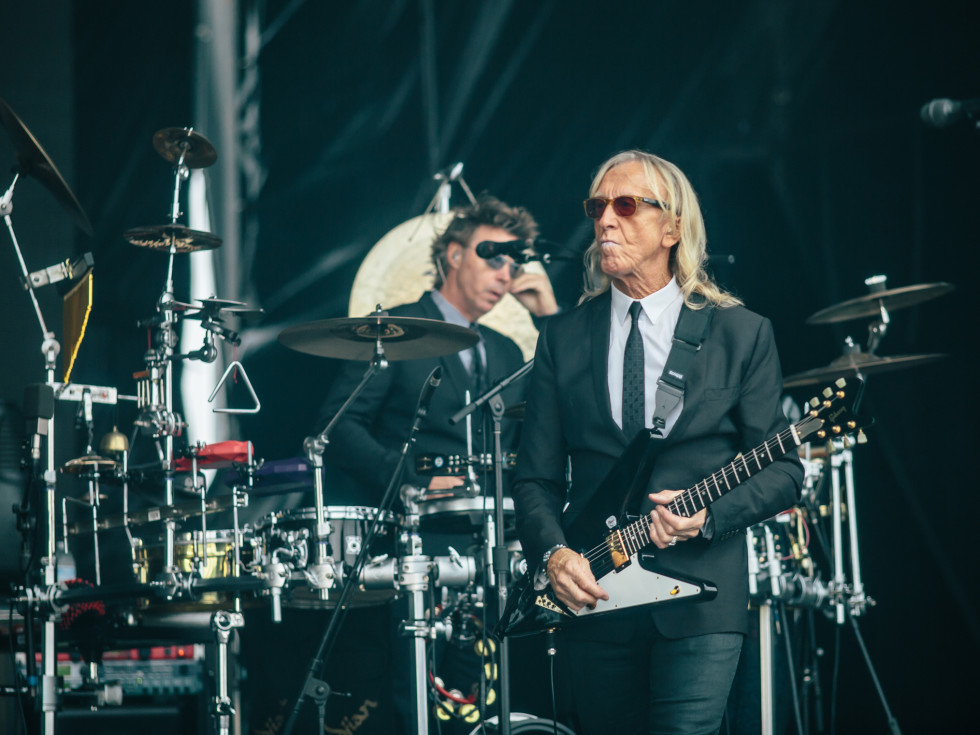 Davey Johnstone at Circuit of the Americas F1 Weekend