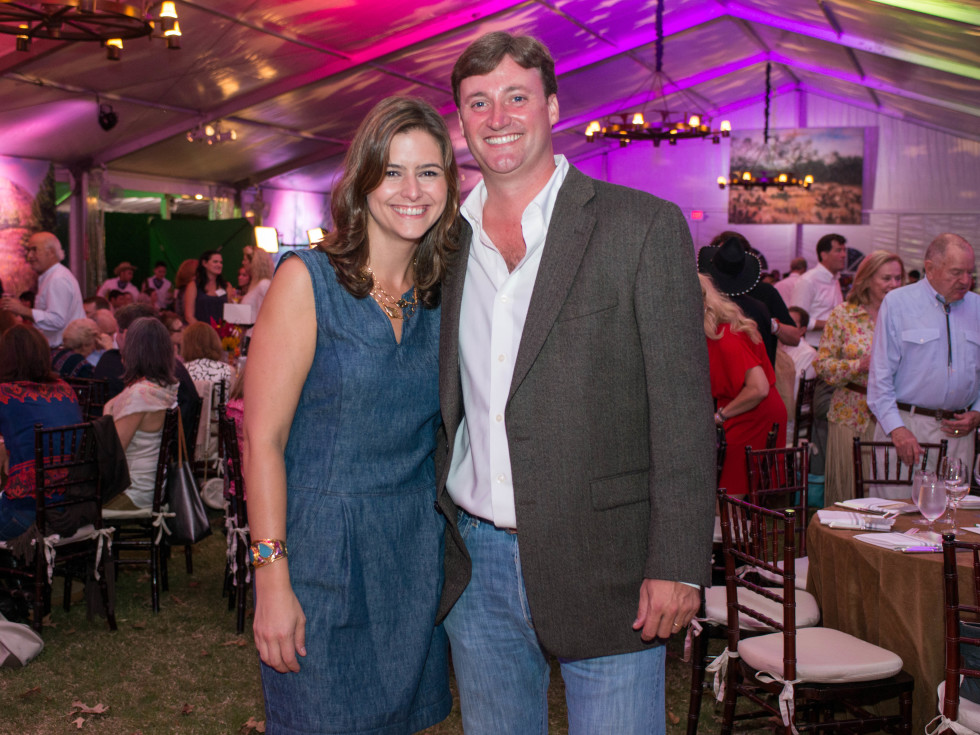 News, Shelby, Nature Conservancy gala, Oct. 2015, Brittany Cassin, Travis Cassin