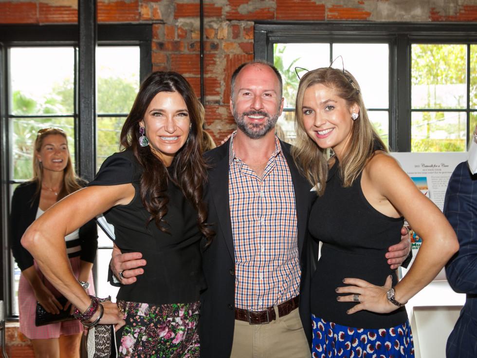 News, Shelby, Catwalk for a Cure kickoff, Oct. 2015, Melissa Mithoff, Tony Bardfield, Lisa Oren