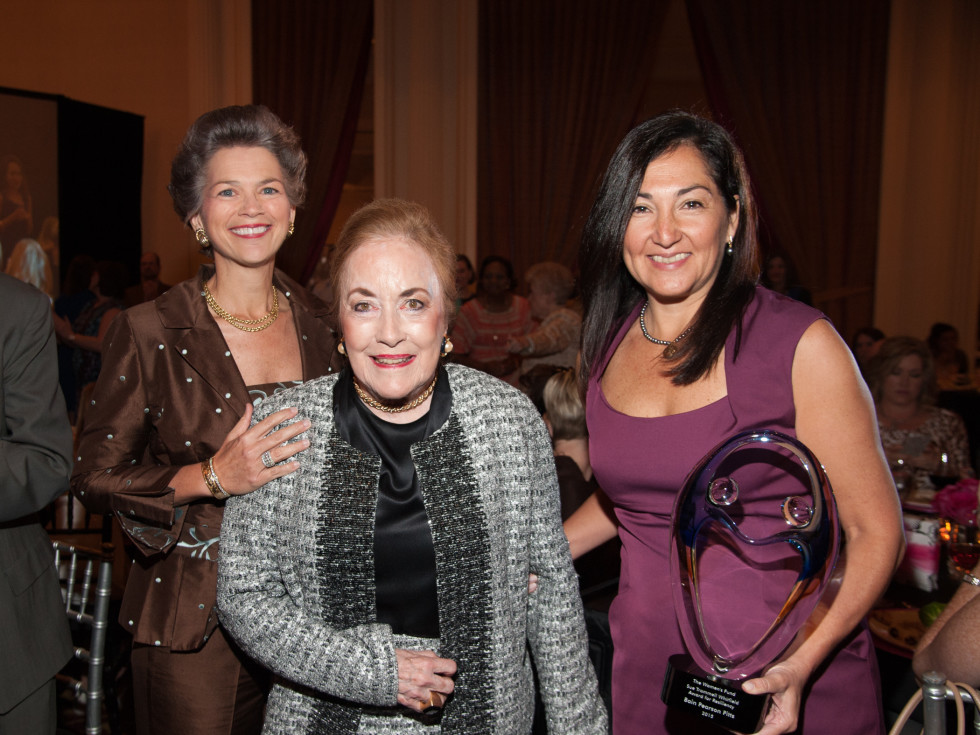 News, Shelby, Women's Fund luncheon, Oct. 2015, Bain Pearson Pitts, Sue Trammell Whitfield, Paulina McGrath